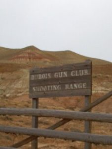 Dubois Wyoming Shooting Range